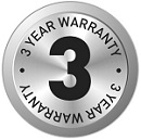 14196 SDA 3 year warranty logo 130x120