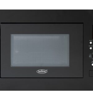 Belling Black Built-in Microwave Oven BIM60BLK