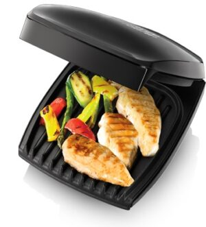 George Foreman Family 4 Portion GR20 Black Grill 18471