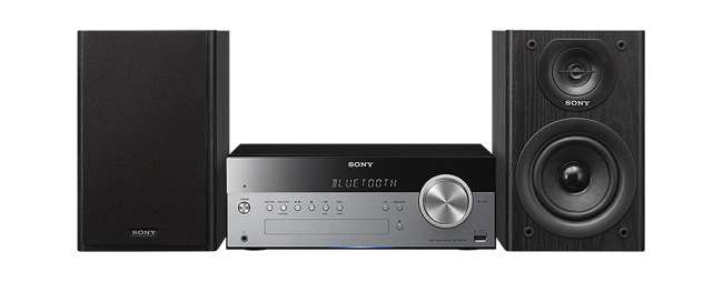 Sony  All-in-one audio system with wireless streaming CMT-SBT100B