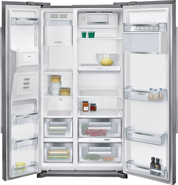 siemens side by iq500 american fridge freezer stainless steel ka90ivi20g ireland price