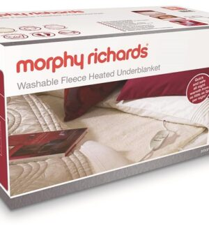 Morphy Richards Double Washable Fleece Heated Underblanket 600012