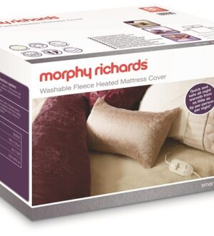 Morphy Richards Double Dual Washable Fleece Heated Mattress Cover 620012