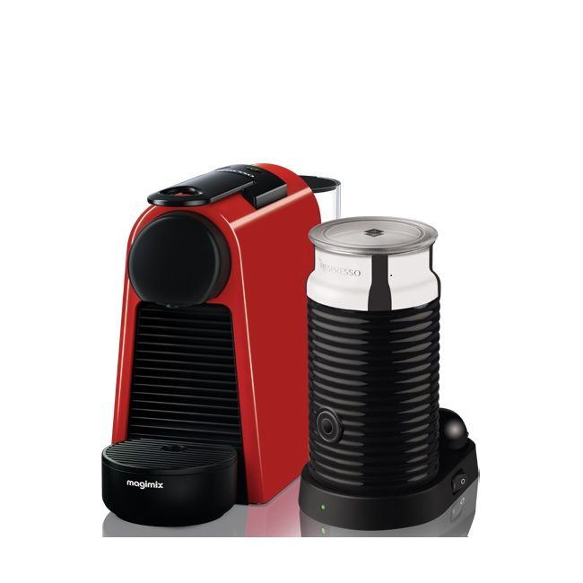magimix essenza mini nespresso coffee machine with aeroccino ireland. Black Bedroom Furniture Sets. Home Design Ideas