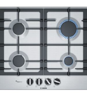 Bosch Serie 6,  Stainless Steel 60 cm Gas Hob  PCP6A5B90