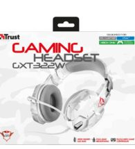 trust white camouflage headset 20864 box