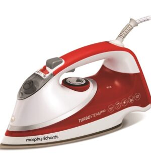 Morphy Richards Turbosteam Pro Pearl Ceramic Electronic Steam Iron 303124