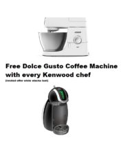 chef and dolce gusto offer