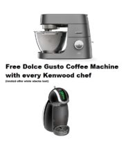 chef titanium and dolce gusto offer