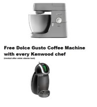 chef xl and dolce gusto offer