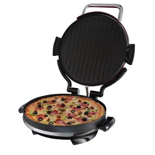George foreman entertaining pizza plate grill 24640 ireland joyces of wexford - Health grill with removable plates ...