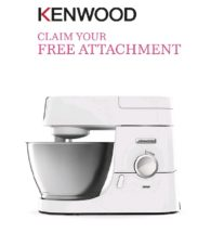 kenwood attachment offer