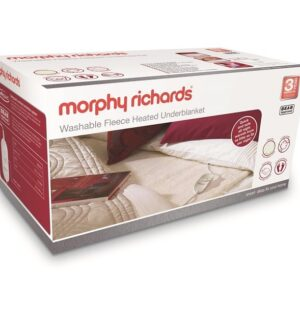 Morphy Richards Single Washable Fleece Heated Underblanket 600011