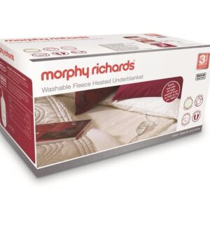 Morphy Richards Kingsize Washable Fleece Heated Underblanket 600014