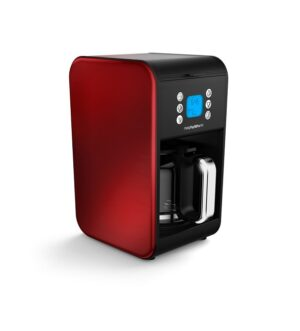 Morphy Richards Accents Red Filter Coffee Maker 162009