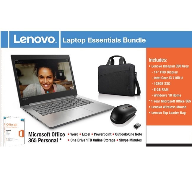 Lenovo Laptop Essentials Bundle 14