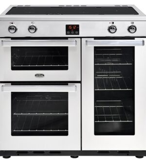 Belling Cookcentre 90cm Range Cooker with Induction Hob 90EI
