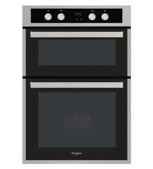 Whirlpool Stainless Steel Double Oven AKL309IX