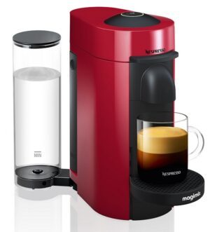 Magimix Vertuo Plus Nespresso Coffee Machine Red 11389