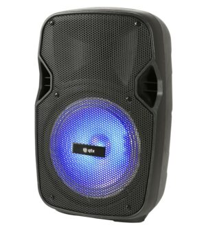 QTX Portable Bluetooth Disco Speaker