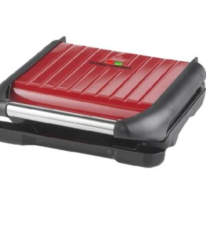 George Foreman Family Health Grill Red 25040