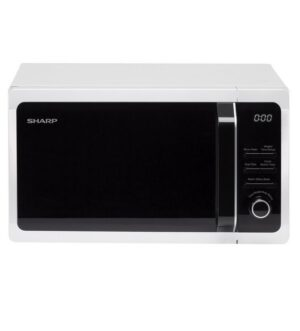 Sharp 800w 20 Litre Solo White Microwave R274WM