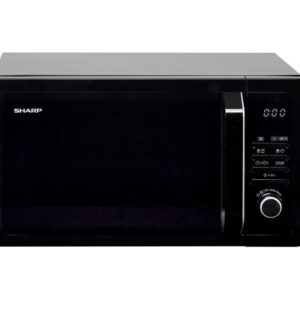 Sharp 25L Solo Microwave Black R374KM