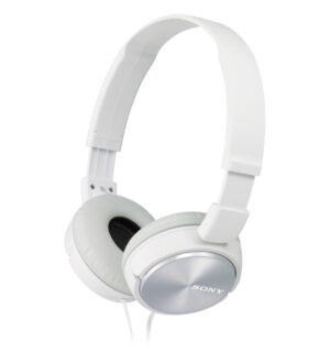 Sony MDR-ZX310 Folding Headphones White