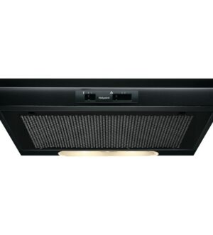 Hotpoint Integrated Black Cooker Hood PSLMO65FLSK