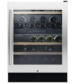 Fisher & Paykel 38 Bottle Dual Zone Wine Cooler RS60RDWX1