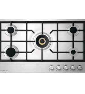 Fisher & Paykel 90cm Stainless Steel Gas Hob CG905DLPX1