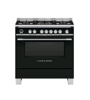 Fisher & Paykel 90cm Freestanding Dual Fuel Range Cooker OR90SCG6B1