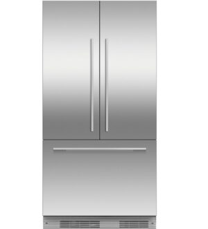 Fisher Paykel 90cm Fridge Freezer with French Doors RS90A1