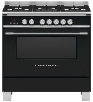 Fisher & Paykel Freestanding Dual Fuel Cooker OR90SCG4B1