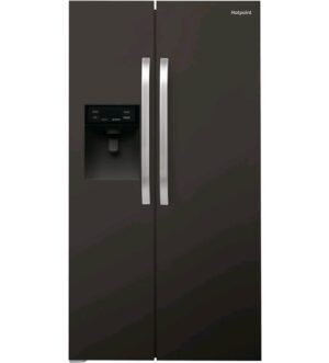 Hotpoint Side-by-Side Black American Fridge Freezer SXBHE925WD