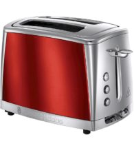 luna red 2 slot toaster