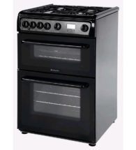 Hotpoint Gas Freestanding Double Cooker HAG60K