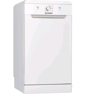 Indesit Slimline White Dishwasher DSFE1B10