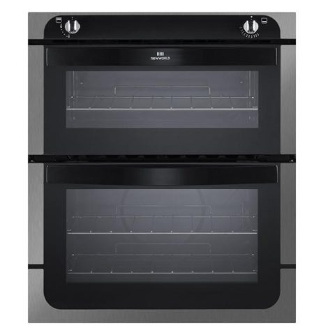 NewWorld 70cm Built-Under Twin Cavity Gas Oven NW701G