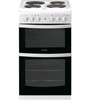 Indesit 50cm White Electric Cooker ID5E92KMW