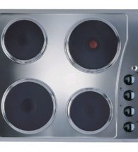 Indesit Stainless Steel Solid Plate Hob TI60X