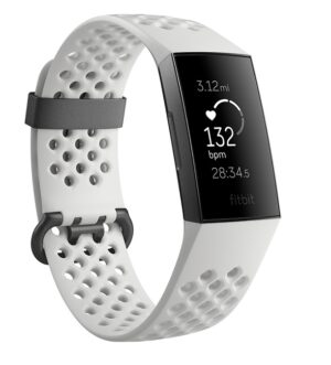 Fitbit Charge 3 White & Graphite Special Edition FB410GMWT