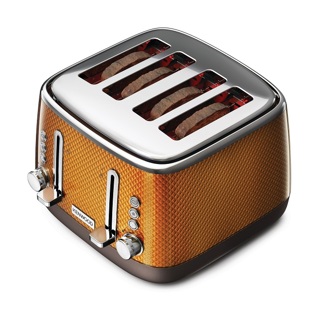 kenwood 4 slice toaster orange