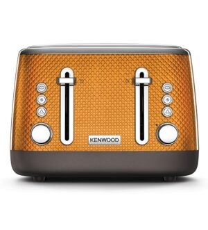 Kenwood Mesmerine Orange 4 slice Toaster TFM810OR