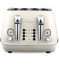 delonghi distinta white toaster