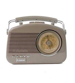 Steepletone Brighton Mocha Portable Retro Radio