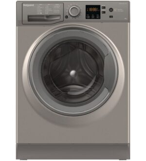 Hotpoint 9kg Washing Machine 1400 Spin Graphite NSWM 943C GG