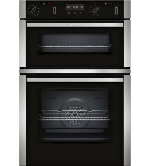 NEFF Built-in Double Oven Stainless Steel U2ACM7HN0B