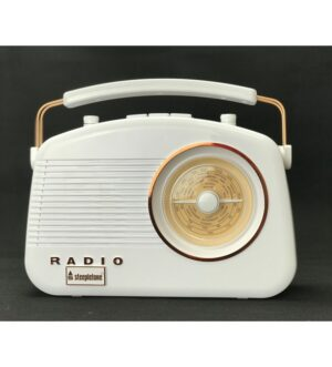 Steepletone Brighton Copper Portable Retro Radio