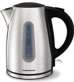 Morphy Richards Essential Brushed Stainless Steel Jug kettle 980541